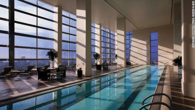 8 Of The Best Indoor Hotel Pools Around The World Hotel Pool Atlantic City Swimming Pools