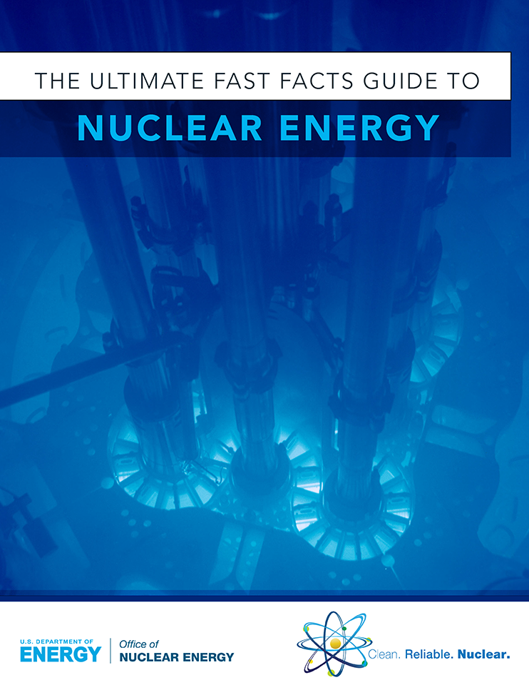 Picture Of A Reactor With Text That Reads The Ultimate Fast Facts Guide To Nuclear Energy Nuclear Energy Fast Facts Energy