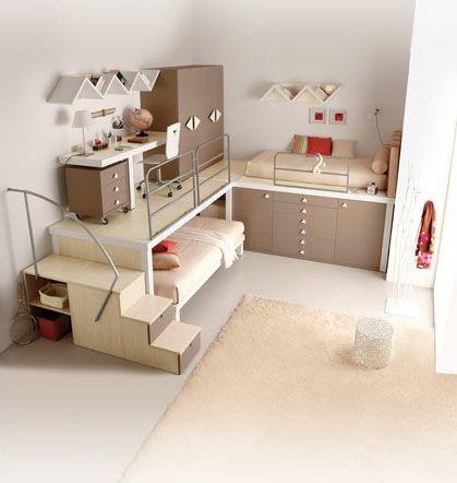 Tiramolla Loft Bedrooms Amenagement Petite Chambre Deco Chambre