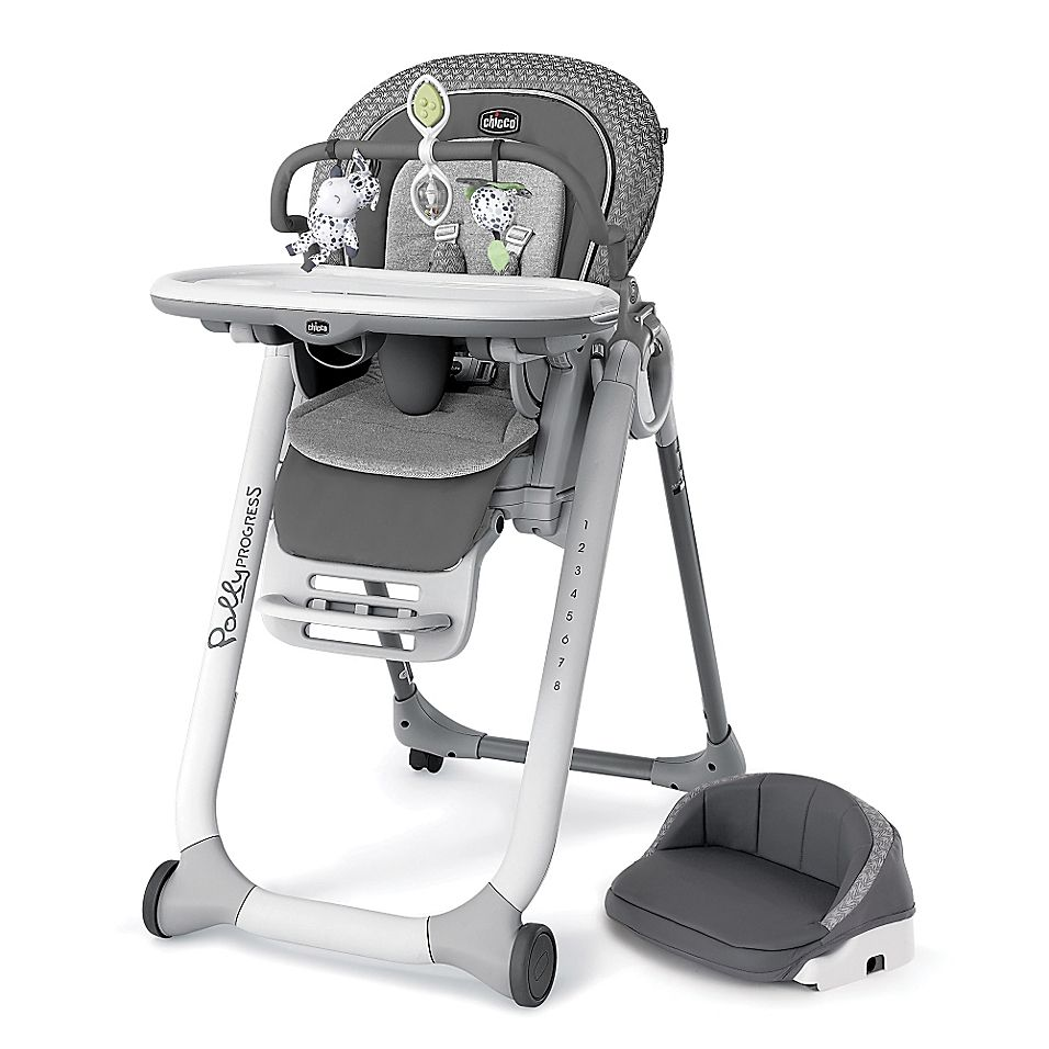 Chicco Polly Progress 5 In 1 Relax Multi Chair In Silhouette New Baby Products High Chair Stroller