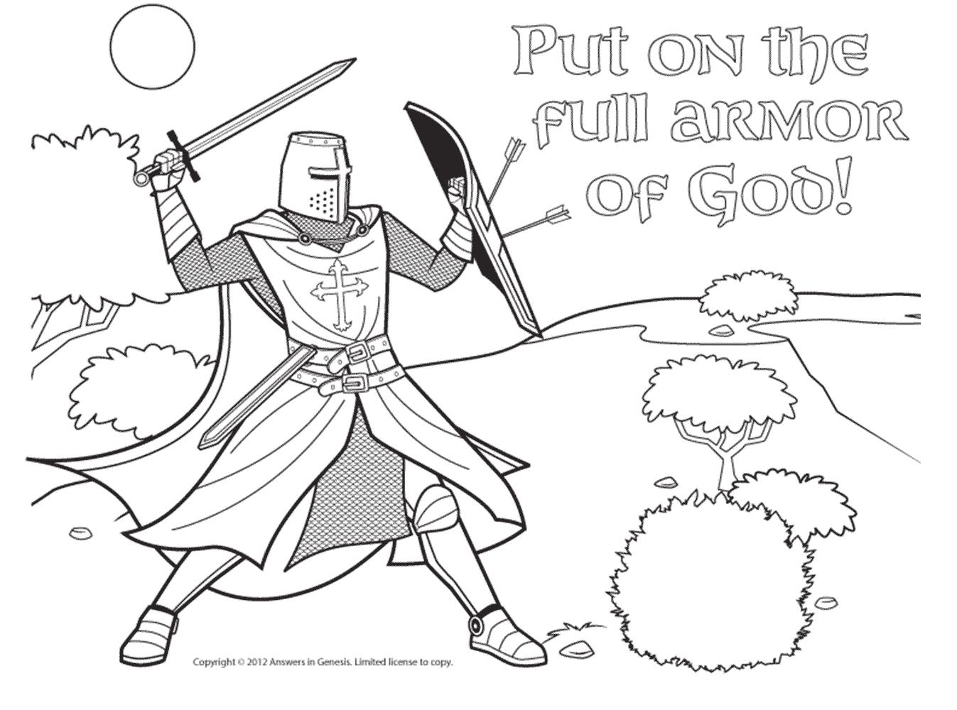 Armor Of God Gt Cc C2 Eph 6 Verses