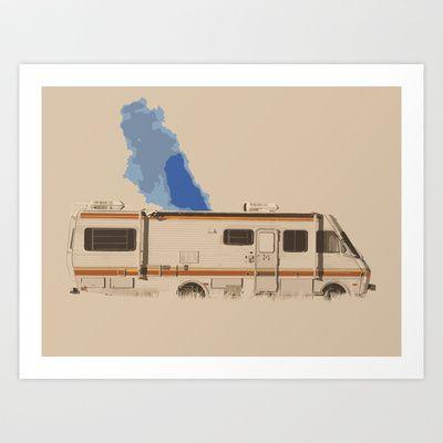 Breaking Bad Art Print by Peter Murphy - $18.00