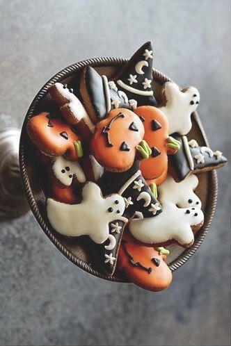 Halloween Plätzchen