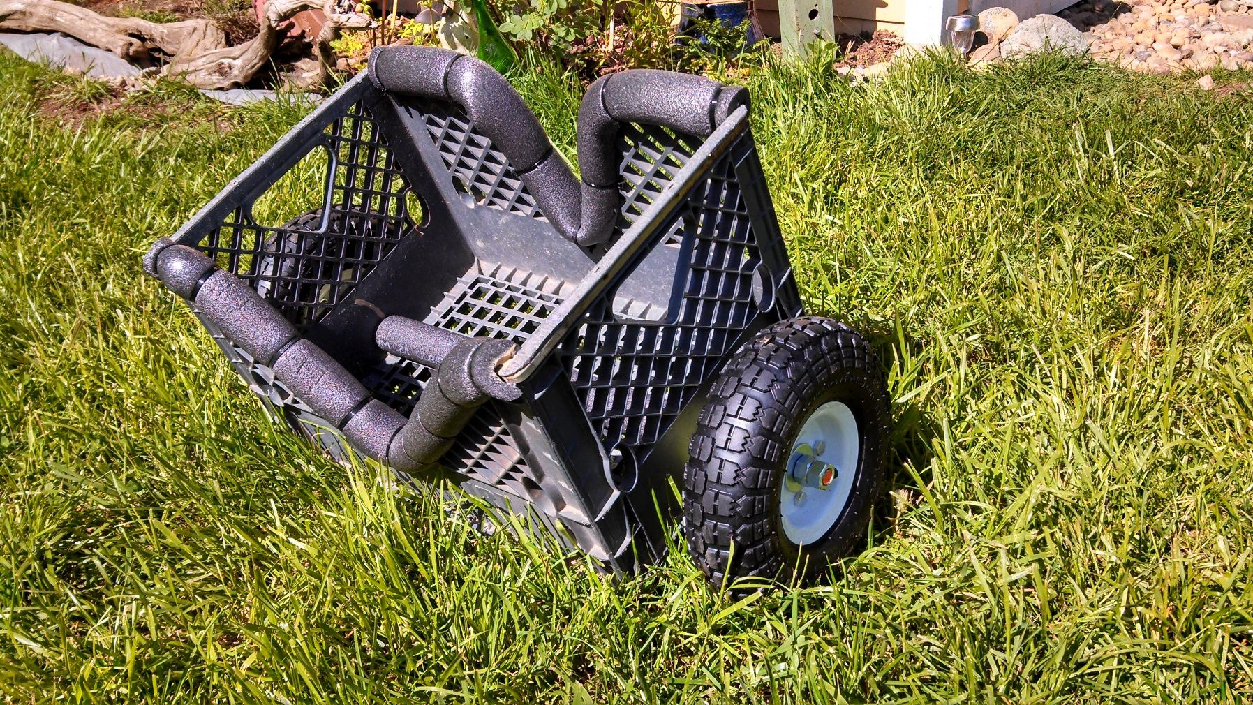 Forums How Tos DIY Milk Crate Kayak Cart