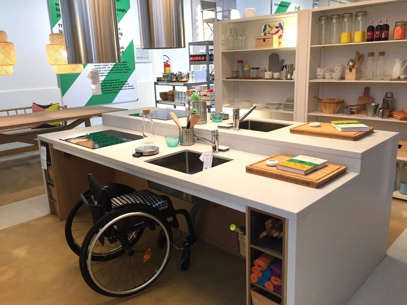 Elegant IKEA Temporary Has Transformed A Two Storey Space In Milan To Showcase  Their Products, Along With Modular METOD Kitchen Concepts Interpreted By  Three ...