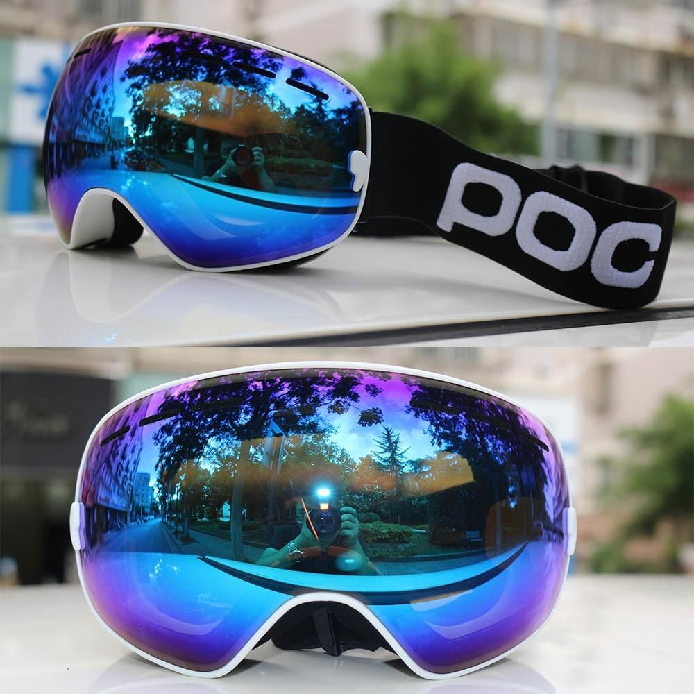 b81ee8fc8cf Professional Ski Goggles Snowboard Men Women Double Layers Anti-fog Skiing  Glasses Snow Mask Skate Eyewear Ski Googles