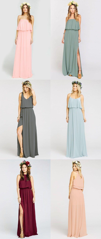 Boho bridesmaid dresses maxi dresses bohemian and boho bohemian bridesmaid dresses maxi dresses for bridesmaids from show me your mumu ombrellifo Gallery