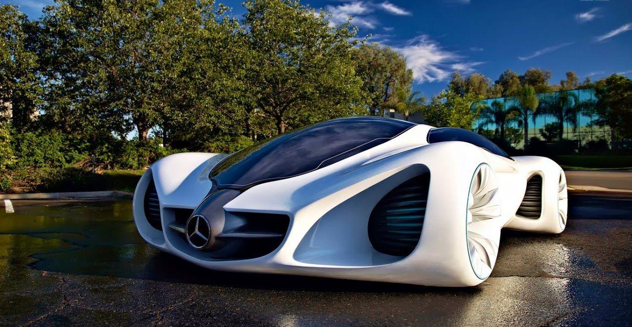mercedes futuristic car!! mercedes benz biome concept