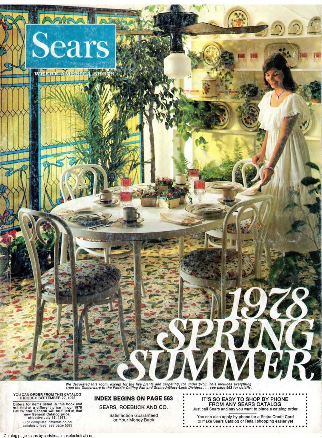 2020 Christmas Catalog Pdf 1978 Sears Spring Summer Catalog PDF in 2020 | Spring summer