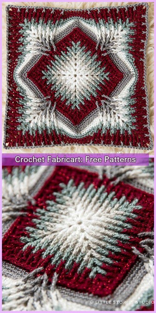 Crochet Elements Cal Blanket Free Pattern | Crocheting & Knitting ...