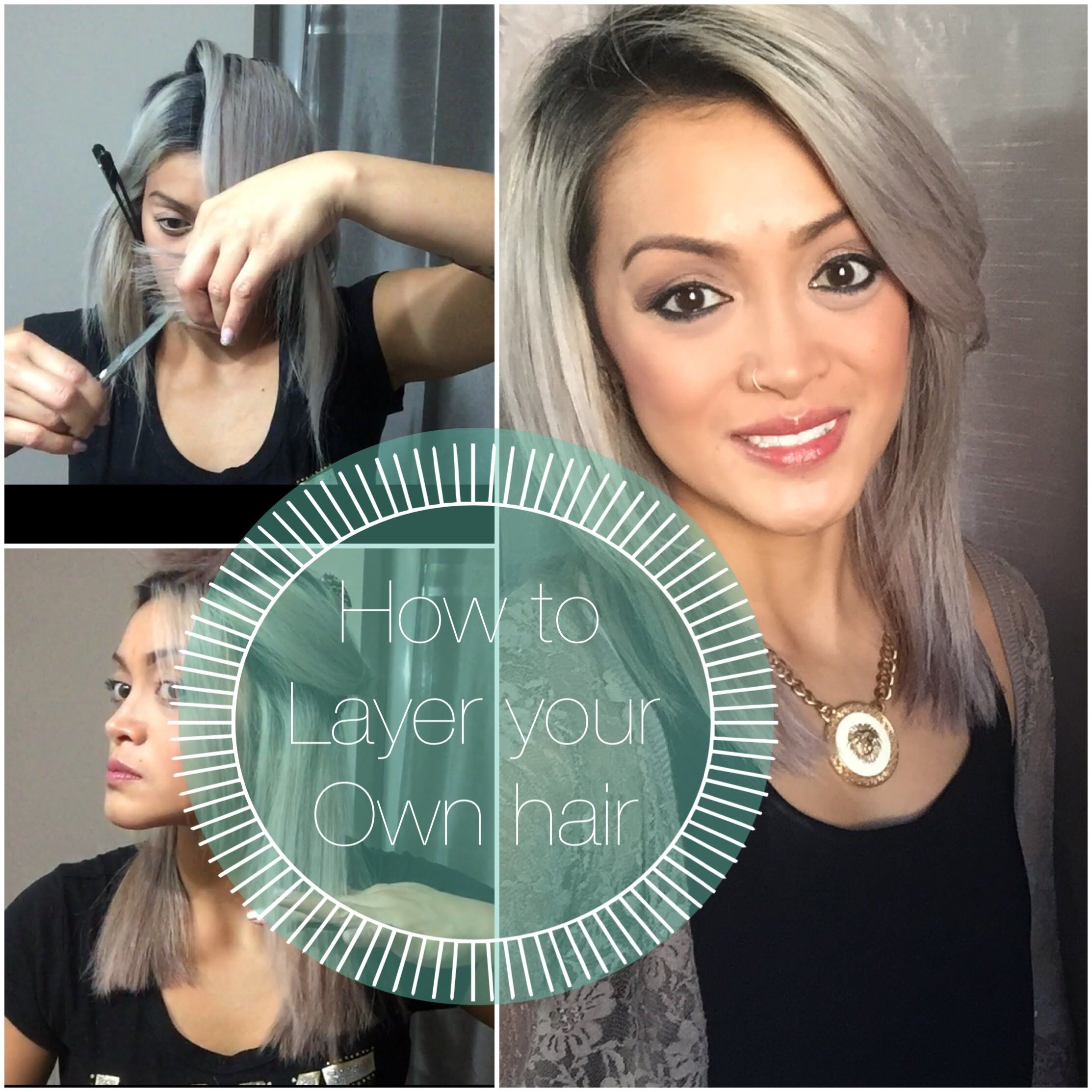 How to layer your own hair hair styles pinterest layering in this video i will show you how i cut my own hair into a long bob cut editing software imovie theme and background music modern from imovie solutioingenieria Choice Image