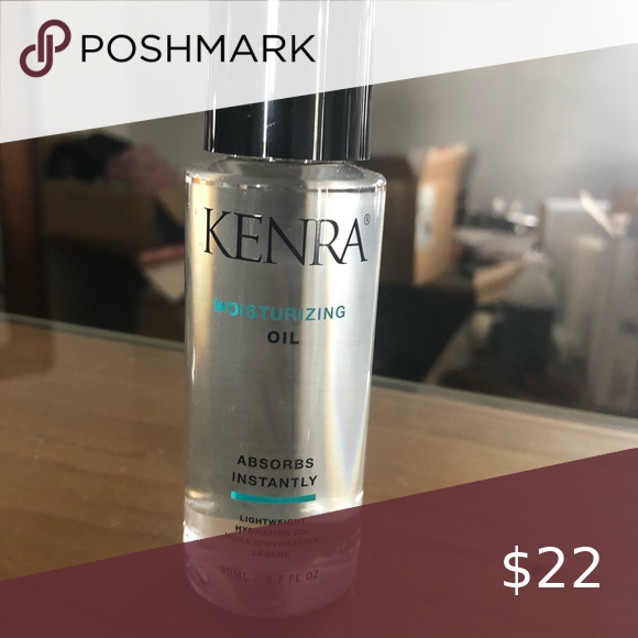 Kenra moisture oil - brand new Full size Kenra's moisture oil is great for dry hair or just as a protectant to keep your hair safe from damaged. It can be applied to wet or dry hair and absorbs instantly!  This is a brand new full size bottle from my salon to your home 🏡 kenra Makeup
