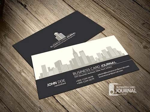 Real Estate Property Management Business Card Template - Real estate business card template