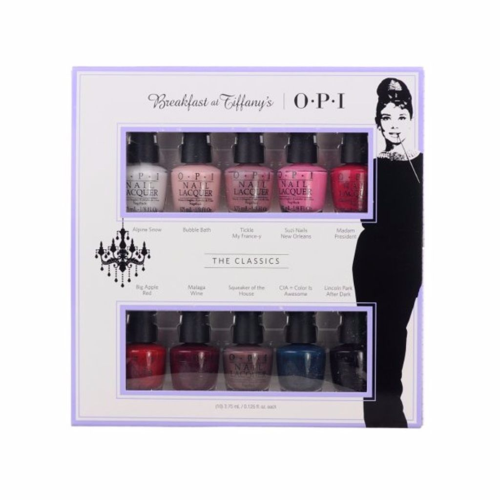 Walmart Wedding Gift Ideas: Opi Top Ten Mini Set Breakfast At Tiffany