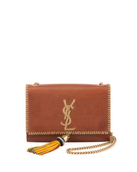 Kate Monogram YSL Small Whipstitch Crossbody Bag by Saint Laurent at Neiman  Marcus 343cf90d41812
