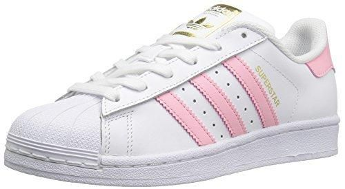 official photos e4e05 3ebd4 adidas Originals Boys' Superstar Foundation J Sneaker White ...