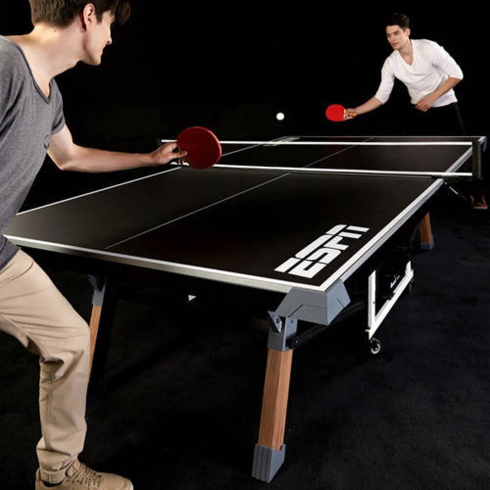 Professional Tennis Table Ping Pong Set Indoor Sports Tournament ...