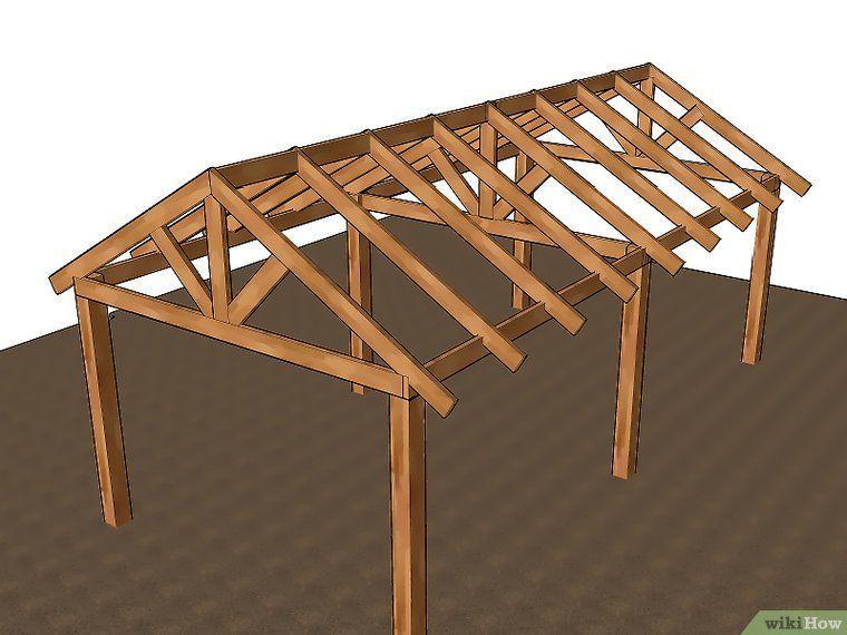 3 ways to build a pole barn wikihow building a pole