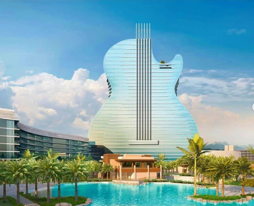 The World S First Guitar Shaped Hotel Will Open In South Florida