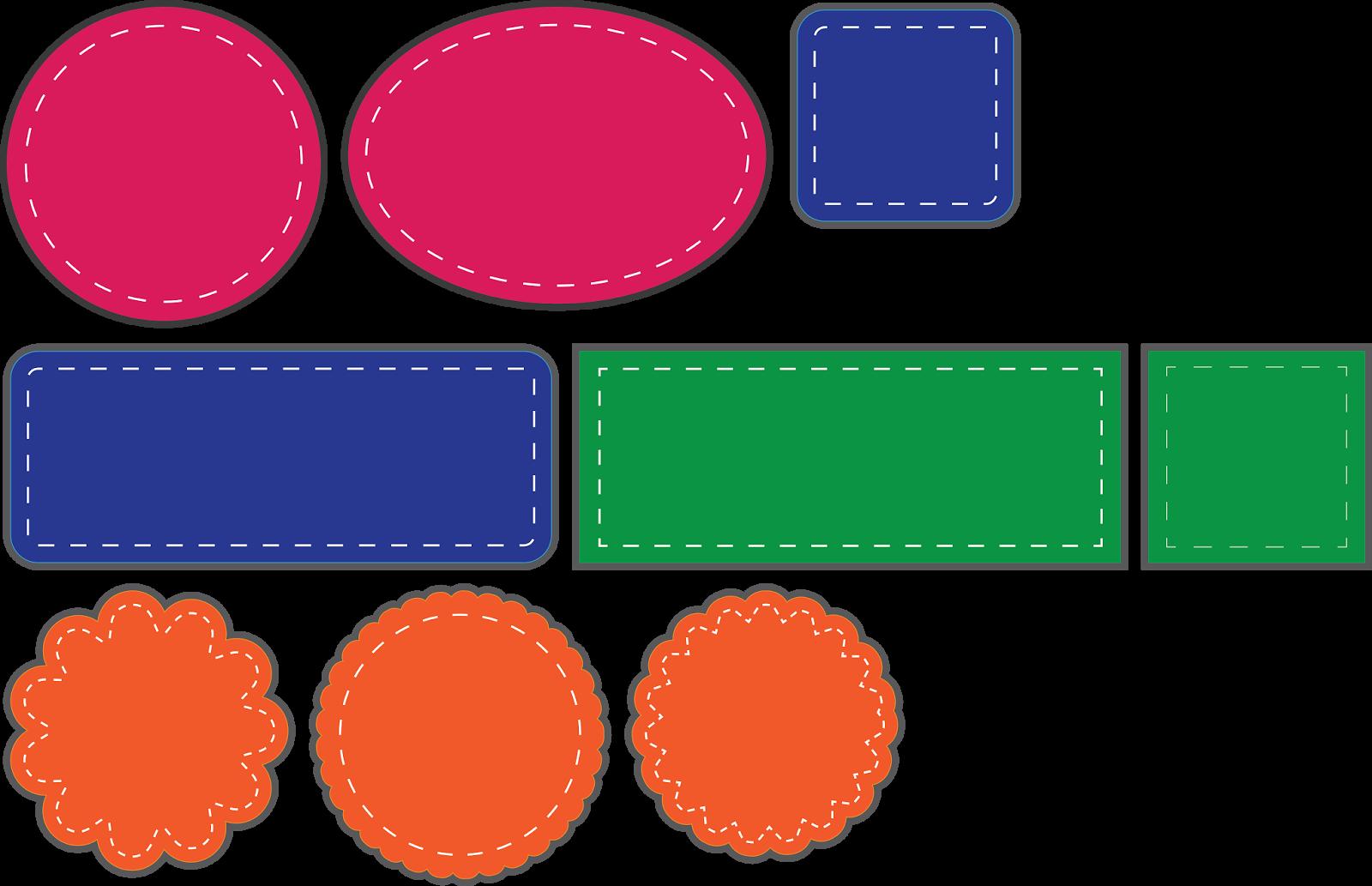 Basic Faux Stitched Shapes Basic shapes, Cards handmade