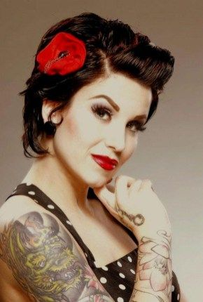 Frisur Rockabilly
