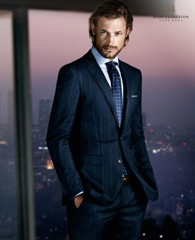 286e30c19 Gabriel Aubry and Zhao Lei for Hugo Boss Selection | LES HOMMES > ET ...