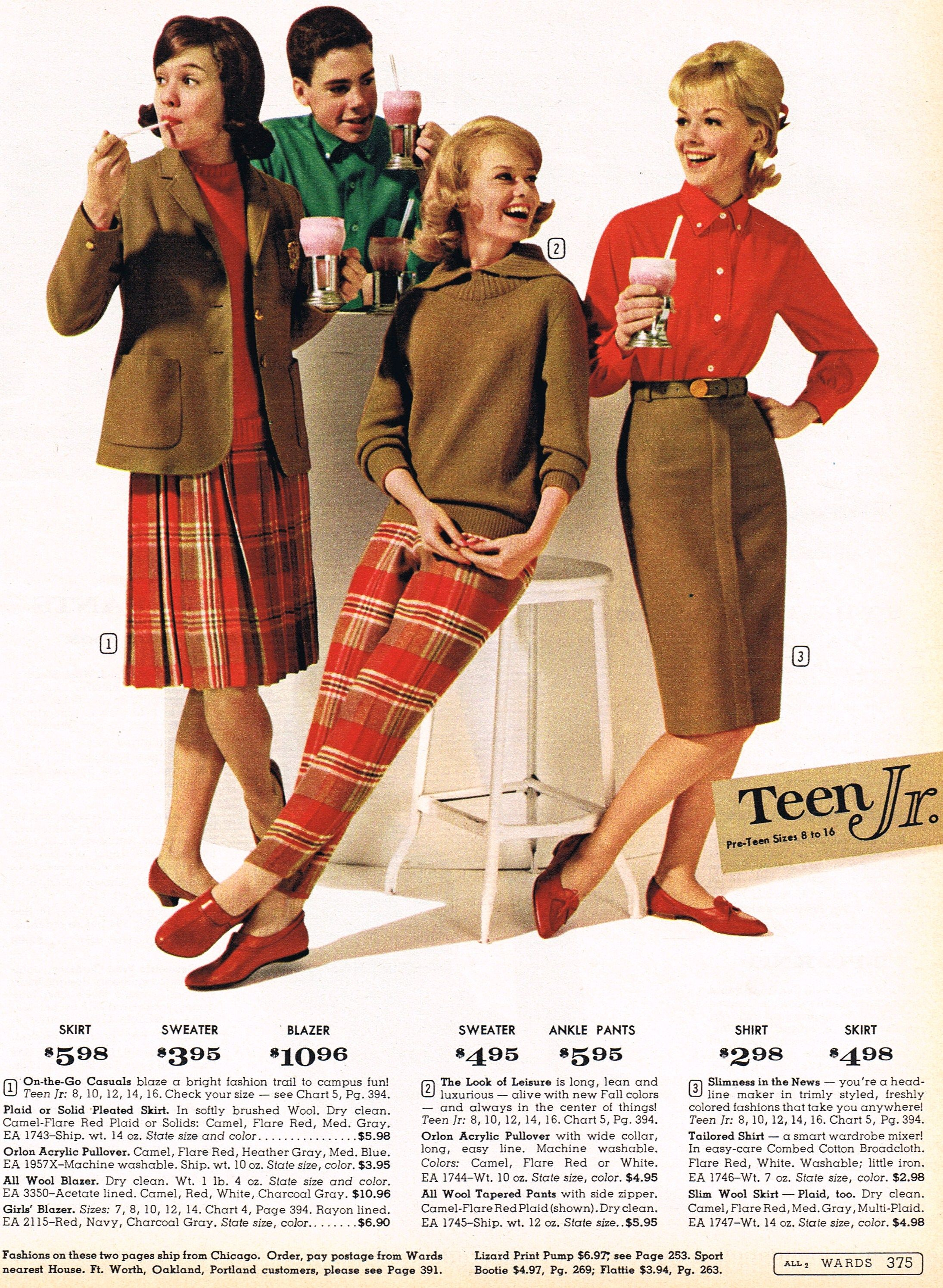 Teens in 60 s fashions agree, this