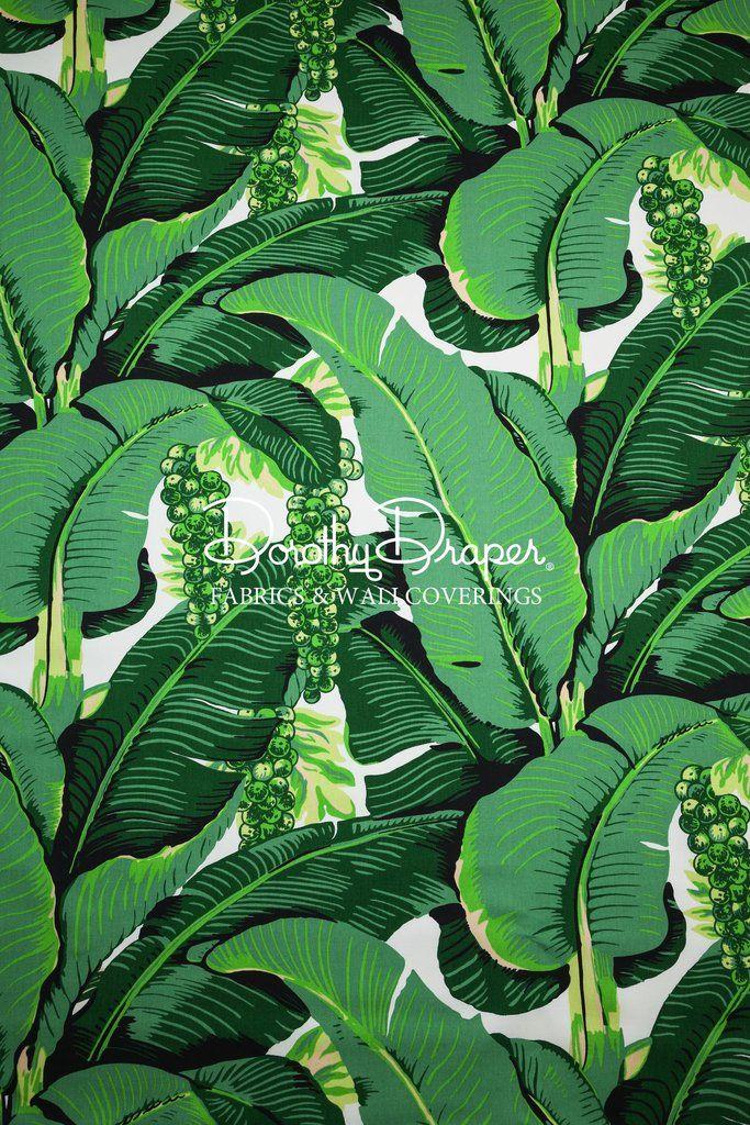 Brazilliance Double Roll Wallpaper Palm leaf wallpaper