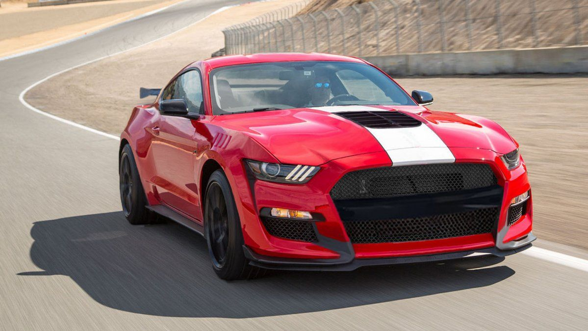 2019 Shelby Gt Ford Mustang Debuts With Gold Stripes And 480hp
