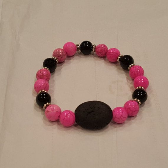 Aromatherapy bracelet / diffuser with by GloriaEssentials on Etsy - $18.99