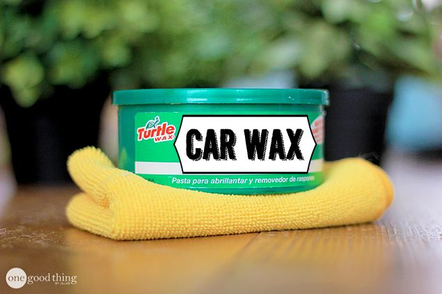 11 unexpected uses for car wax that will make your life easier jillee clean cleaning fun. Black Bedroom Furniture Sets. Home Design Ideas