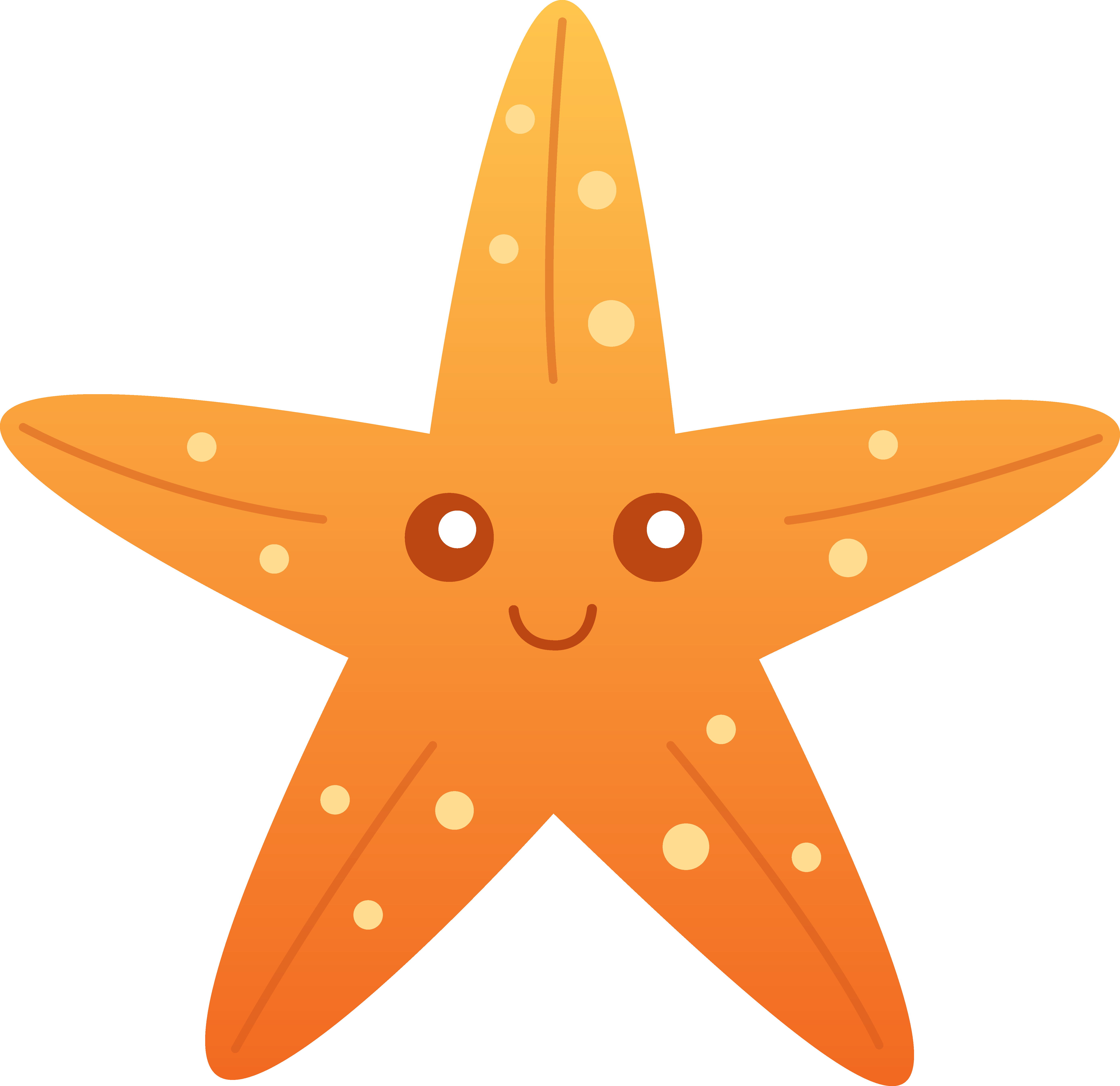 starfish cartoon clip art orange starfish clip art pre school rh pinterest com starfish clipart starfish clip art pictures