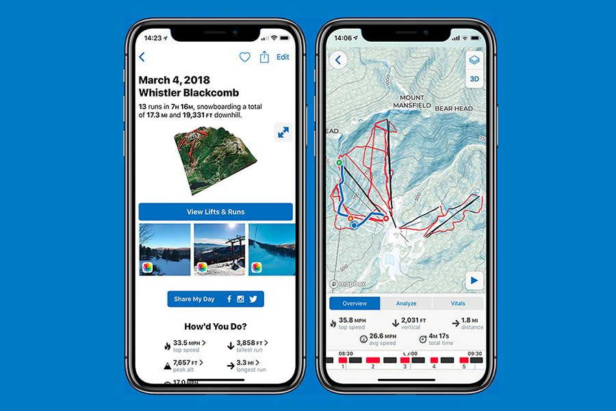 Now See Your Ski Lanes in 3D with Slopes and Strava