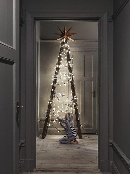 Die Nordische Weihnachtsleiter Weihnachten Weihnachten