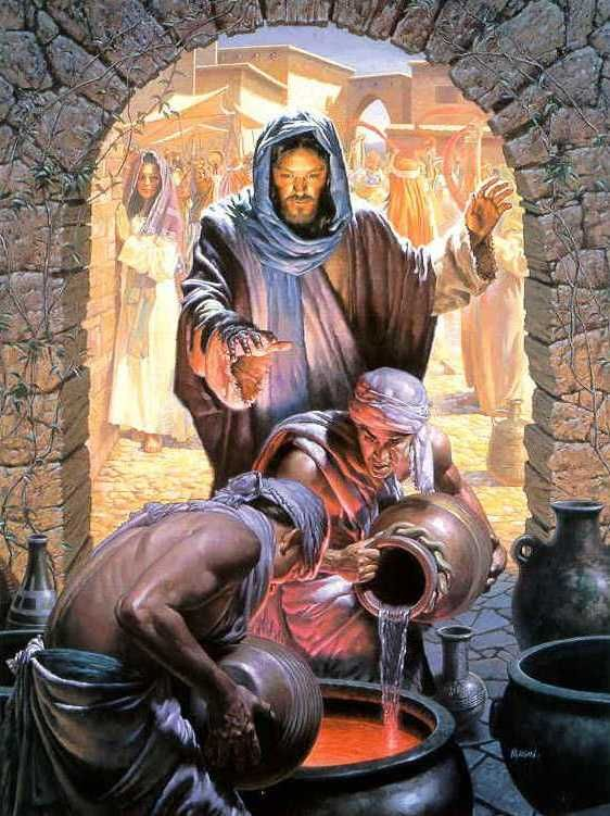 The Second Luminous Mystery Jesus Pictures Miracles Of Jesus