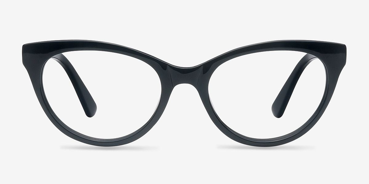 ca344095912d Her Black Acetate Eyeglasses from EyeBuyDirect. A fashionable frame with  great quality and an affordable price. Come see to discover your style.