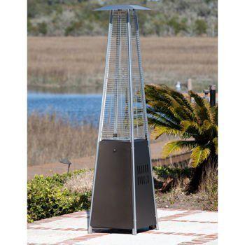 Golden Flame Resort Model 40 000 Btu Glass Tube Pyramid Style Flame Patio Heater In Rich Mocha Finish Our New 2015 Golden Flame 40 000 Btu Patented Resort Mode Mit Bildern