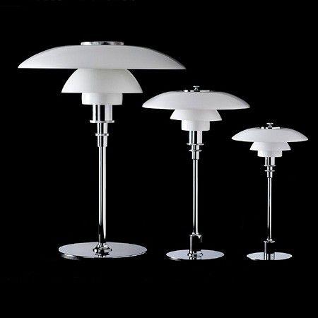Louis Poulsen Ph 2 1 Ph 3 2 Of Ph 4 3 Tafellamp In Glas Tafellamp Glazen Tafellampen Glazen Lampen