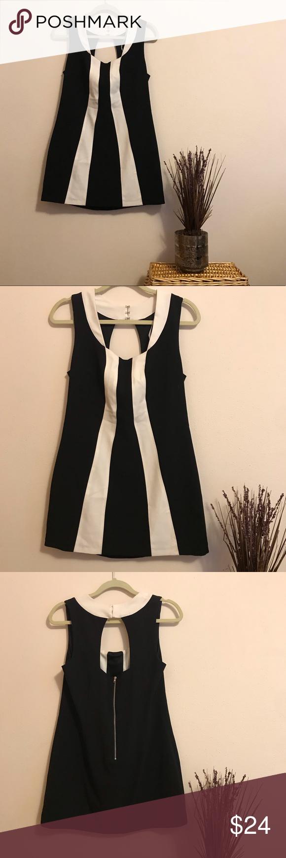 Tinley Road Black White Mini Dress Black White Mini Dress White Mini Dress Mini Black Dress [ 1740 x 580 Pixel ]