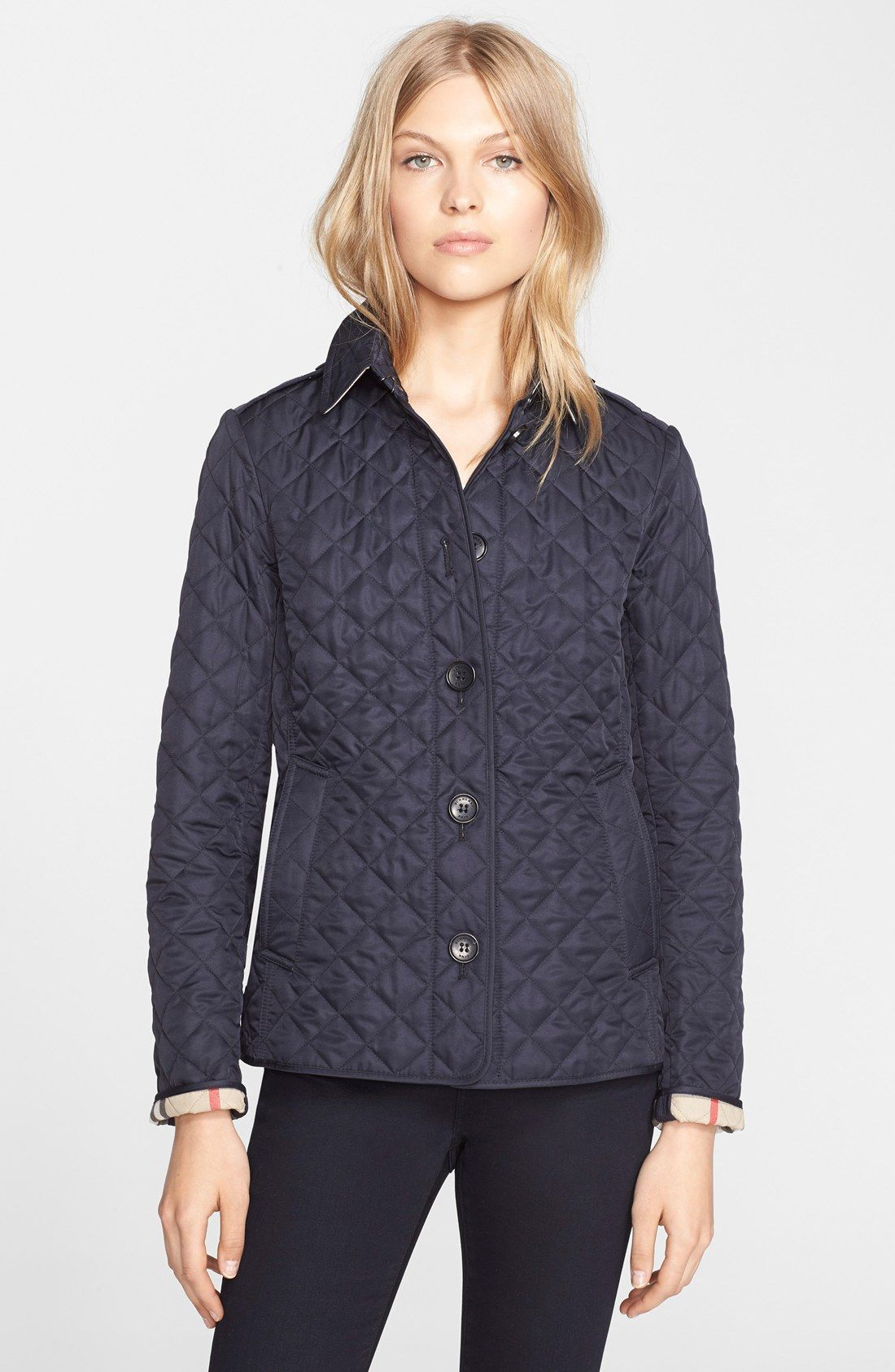 Burberry Ashurst Quilted Jacket Nordstrom Quilted Jacket Jackets Burberry