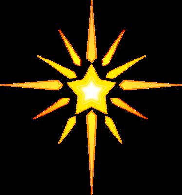 Image Christmas Star Christmas Clip Art Christart Com Kbcucn Clipart Png 374 400 Stars Craft Nativity Star Christmas Star