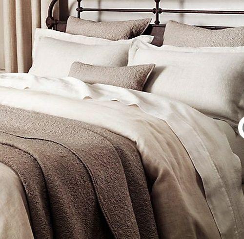Baumwolle Bambus Bettdecke beige braune Farbe | House Ideas ...