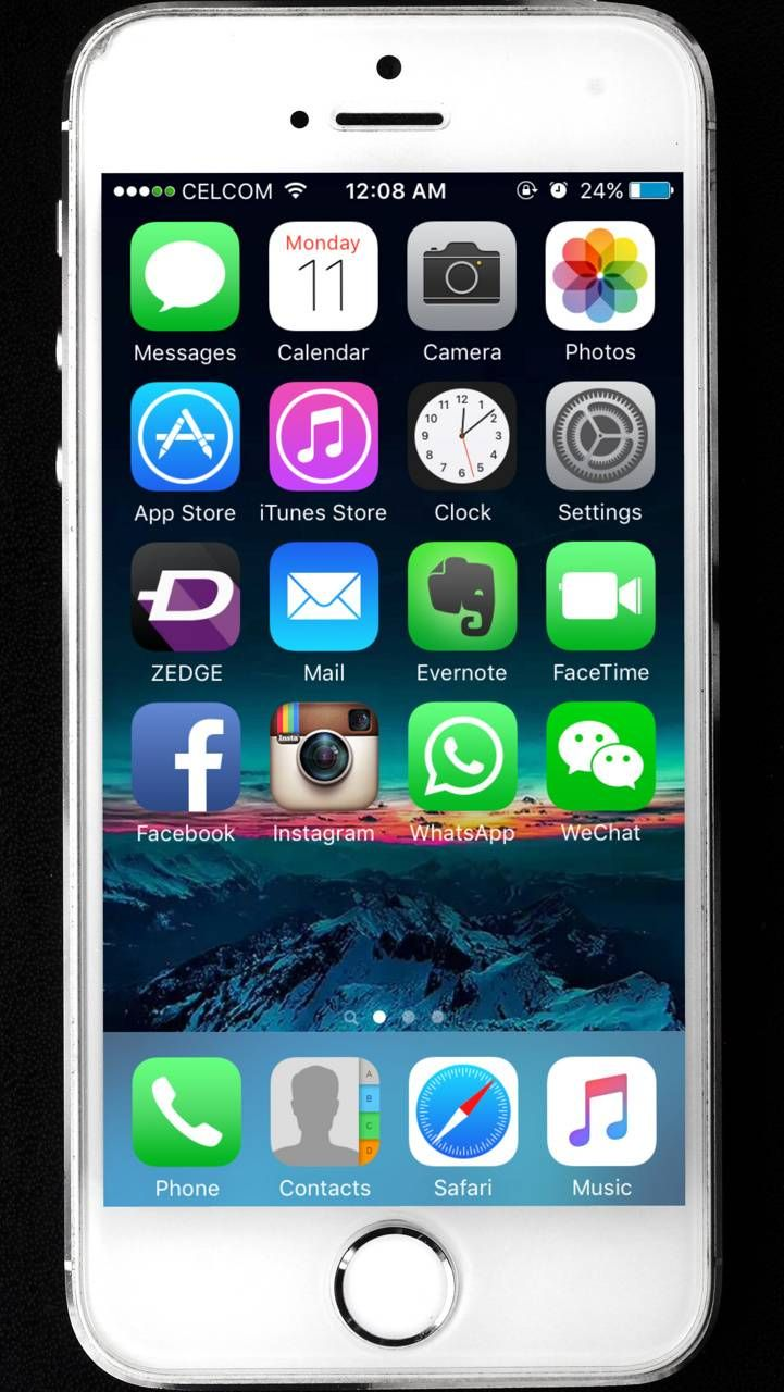 Download iphone 5s homescreen wallpaper by shahlife 44