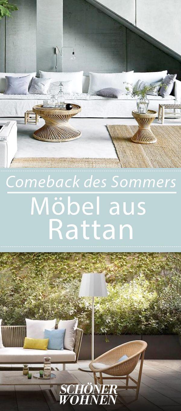 Moderne Rattanmöbel   Modelle Für Haus Und Garten | Pinterest |  Sonnenliege, Modernes Design Und Gartentipps