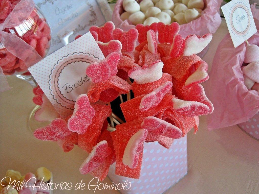 Candy bar, mesa de chuches, boda, wedding   Mil historias de ...