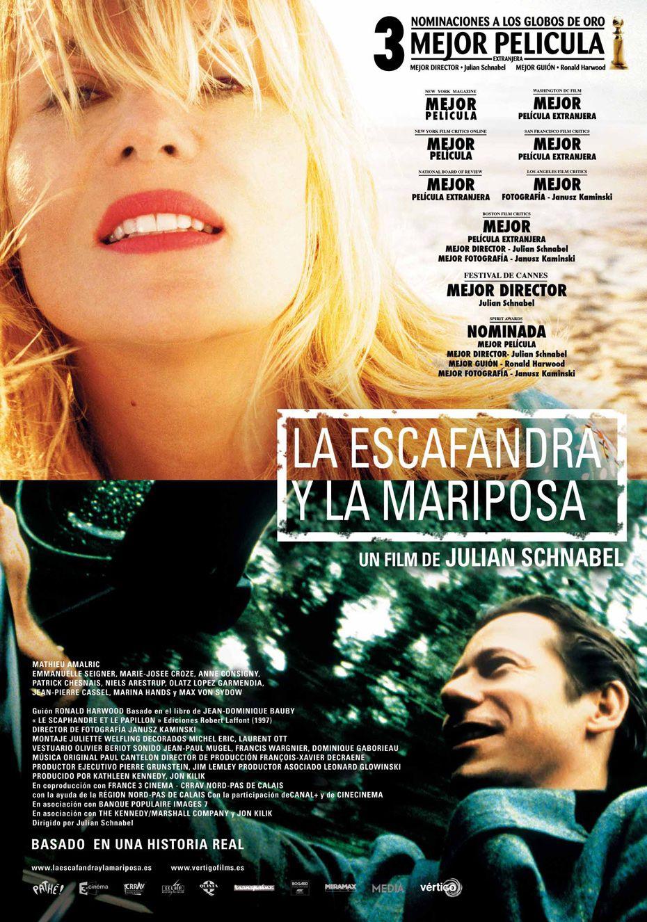 Le scaphandre et le papillon 2007 Full Movie - video ...