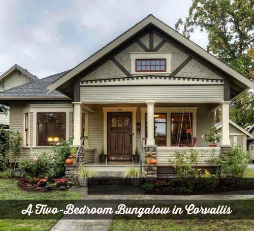 A Bungalow: A Craftsman Bungalow In Oregon