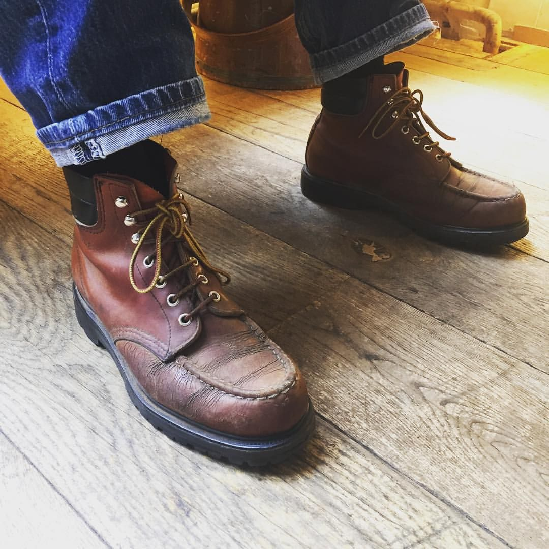 a4cbe78cb99 Woooow! Phil has a pair of twenty-five year old Red Wing Shoes 204 6 ...