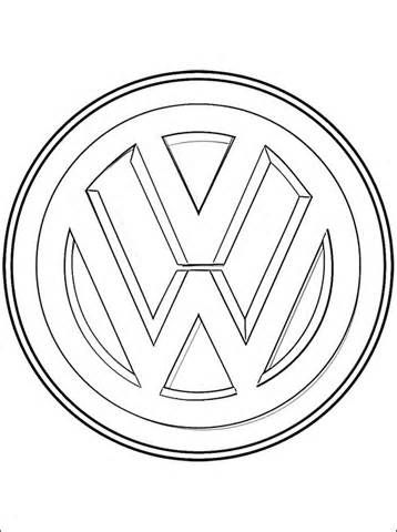 Sketch Volkswagen Beetle Coloring Pages