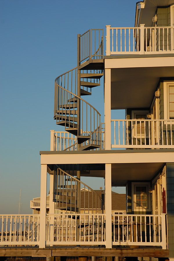 Best A Galvanized Steel Spiral Stair Is The Perfect Solution 400 x 300